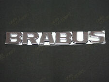 MERCEDES BENZ BRABUS CHROME REAR CAR LOGO BADGE EMBLEM STICK PLASTIC SLK CLK CLS