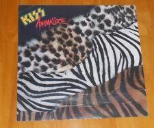 Kiss Animalize Poster Flat Square Vintage Promo 12x12