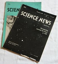 Science News - November 4, & 11, 1967