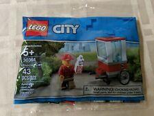 Lego City Poly Bag Set 30364 Popcorn Cart New 2019 43 Pieces