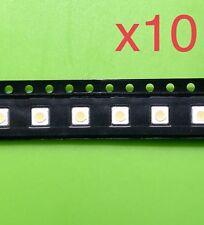 10pcs LED 1W 3537 100LM 3V SPBWH1332S1BVC1BIB SAMSUNG Envío Rápido Desde España