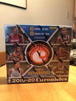 2019-20 Panini Chronicles - NBA HOBBY PACK 8 Cards: Zion, Ja?