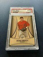 2010 Bowman Platinum Prospects Mike Trout ROOKIE Card RC #PP5 PSA 10 GEM Angels