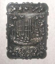 Circa 1850's American Silver Castle Top Coin Silver Card Case – Leonard & Wilson