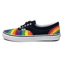 Vans Era Rainbow Drip Black Red Blue Men's 12 Skate Shoes New