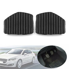 2x Clutch Brake Pedal Rubber Cover For Peugeot Citroen 207 308 C3 Picasso C4 C5