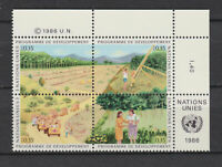 S10764) United Nations (Geneve) MNH 1986, Development Program 4v+ Lab