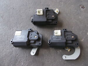 TOYOTA JZA80 SUPRA air conditioning step motor set of 3 sec/h #2