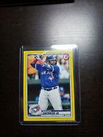2020 Bowman Vladimir Guerrero Jr Yellow 21/75 #50 Toronto Blue Jays