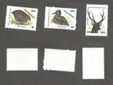 Australia - Victoria - $2, $3, $10 Protected Species - Mint, never hinged stk#Q7