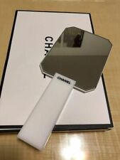 CC white acrylic handheld mirror beauty