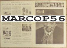 Depliant DUCATI SOGNO Fotografia Microcamera Opuscolo Illustr.ivo ORIGINALE 1949