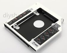 2nd HDD SSD Hard Drive Caddy for HP EliteBook 8530W 8540W BC-5541H AD-7561S DVD