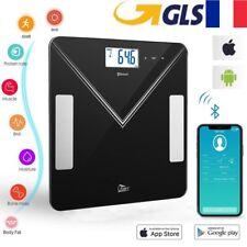 Pèse-Personne Bluetooth APP Balance de Graisse Intelligent pour Smartphone 180kg