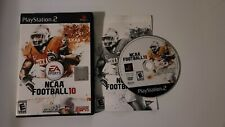 NCAA Football 10 (Sony PlayStation 2, 2009) PS2 Game - Tested w/ Case & Manual