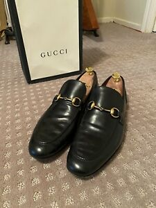 Gucci Jordaan Horsebit Loafer Black  Size US 11.5