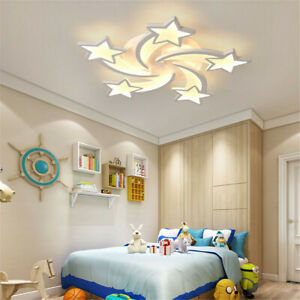Modern Dimmable LED Ceiling Light Chandelier for Kids Bedroom Living Dining Room