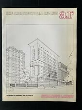 Architectural Review 1033 March 1983 Stirling at Fogg Columbia & Stuttgart parks