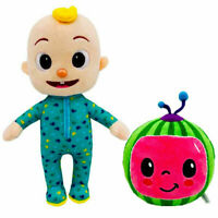 "10.2"" Cocomelon JJ Plush Toy Boy Soft Stuffed Doll Educational Kids Toy Gift"