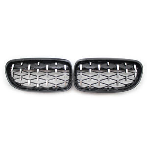 FOR BMW E90 E91 3 SERIES 2009-2013 KIDNEY GRILL Diamond Edition GRILLE  Z4 STYLE