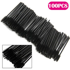 100Pcs Disposable Mascara Wands Eyelash Brush Spooler Lash Extension Applicator