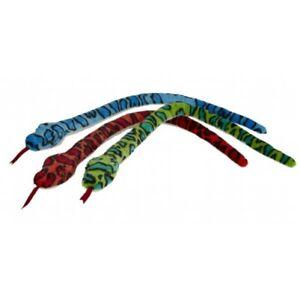 Colourful Snake Soft Toy 100cm Ravensden Reptile Teddy