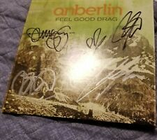 SIGNED Anberlin Feel Good Drag 45 Rpm Vinyl!