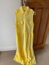 NWOT Yellow Equipment Dress - Size Small