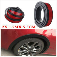 2 Pcs 5.5cm Car Wheel Fender Extension Flares Arch Protector Moulding Retrofit