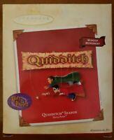 Harry Potter Quidditch Season Ornament 2002 Hallmark Keepsake Windup Movement