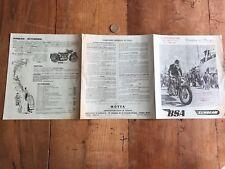 catalogue brochure ancien moto numéro 9 1955 BSA