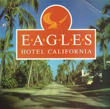"""EAGLES – Hotel California (RARE 1988 UK VINYL SINGLE 7"""" REISSUE UNIQUE PS)"""