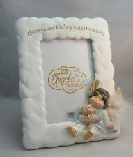 Figi Angelic Wishes picture frame.Children are life's greatest Blessing.Angel