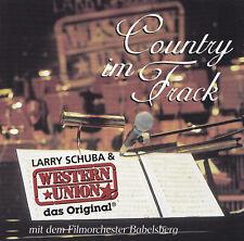 LARRY SCHUBA & WESTERN UNION - 2 CD - COUNTRY IM FRACK