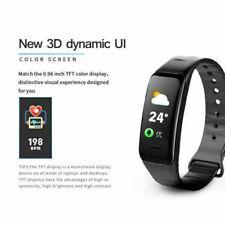 Bluetooth Smart Watch Heart Rate Oxygen Blood Pressure Sport Fitness Tracker US