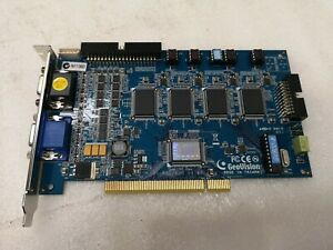 New GeoVision GV-800 v4.45 16 Channel DVR Card with 8.4 Software, support Win 7