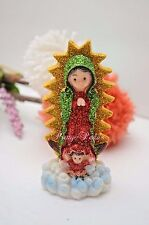 Our Lady Of Guadalupe Statue Virgin Mary Virgen Maria De Guadalupe Catholic 4""