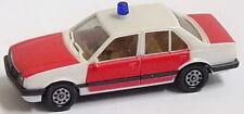 1:87 Opel Ascona C Stufenheck Feuerwehr rot weiß - herpa 4055