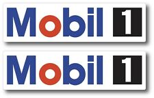 2x Mobil 1 Oil Racing Decal Sticker 3m Vinyl Vehicle Window Wall Car One Drag