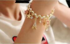 2018 New Girls Korean Star Flower Poker Card Love Bracelet Anklet