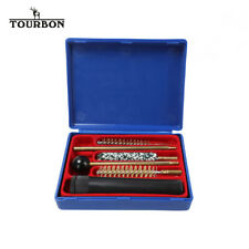 TOURBON Universal Pistol Gun Cleaning Kit with Plastic Case fits Cal. 38/357/9mm