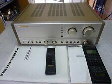 Marantz Stereo Amplificateur ** pm-62 ** Spécial Série Fonderie pages + Télécommande