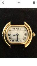 """Cartier """"Paris """" Vendome Ellipse 18k Solid Gold Ladies Watch, Superb Condition."""