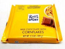 Ritter Sport Chocolate Bar - Milk Chocolate - Corn Flakes - 3.5 oz Bar (1 Bar)