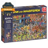 Jumbo Jan van Haasteren 19060 - The Roller Disco, 1000 Piece Jigsaw Puzzle