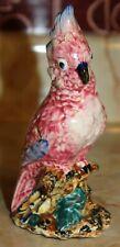 Vintage Stangl Pottery Birds 3405S Pink Cockatoo JTF, EUC