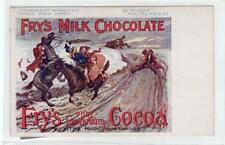 FRY'S MILK CHOCOLATE: advertising postcard (C29903)