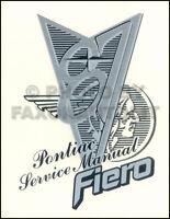 NOS 1987 Pontiac Fiero Shop Manual NEW Original 87 Service Repair SE GT Book OEM