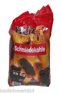 HeizProfi Schmiedekohle 25 kg Nussbriketts Fett-Nuss IV Kohle Nusskohle