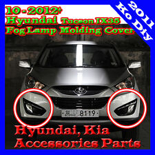 Genuine Fog Lamp Molding Cover Gloss Black For 10 11 2012+ Hyundai Tucson IX35